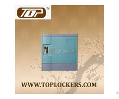 Six Tier Office Lockers Abs Plastic Blue Color