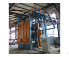 Auto Parts Hanger Shot Blasting Machine Increase Roughness