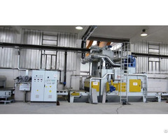 Continuous Belt Shot Blasting Machine