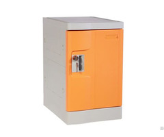 Orange Plastic Mini Lockers