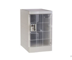 Transparent Mini Plastic Lockers