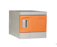 Plastic Lockers Mini Orange Color