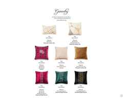 Rhinestone Cushion Pillow Cover Geometry Design Series