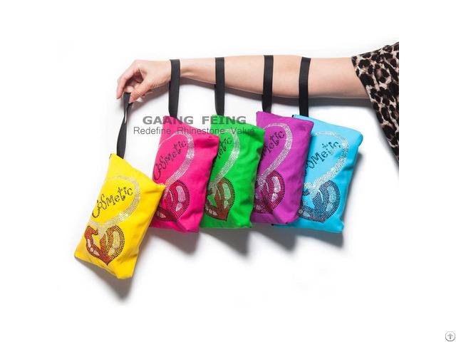 Rhinestone Makeup Pack Hand Bag
