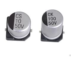Jck Smd Aluminum Electrolytic Capacitors