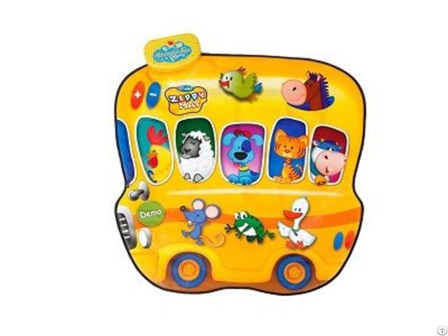 Animal Bus And Musician Mat