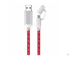 Type C To Micro Usb Flowing Flat Cable Ldf005