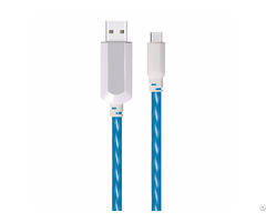 El Visible Type C To Usb Flowing Flat Cable Ldf004