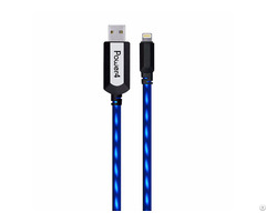 El Visible 8 Pin Lightning Usb Flowing Flat Cable Ldf002