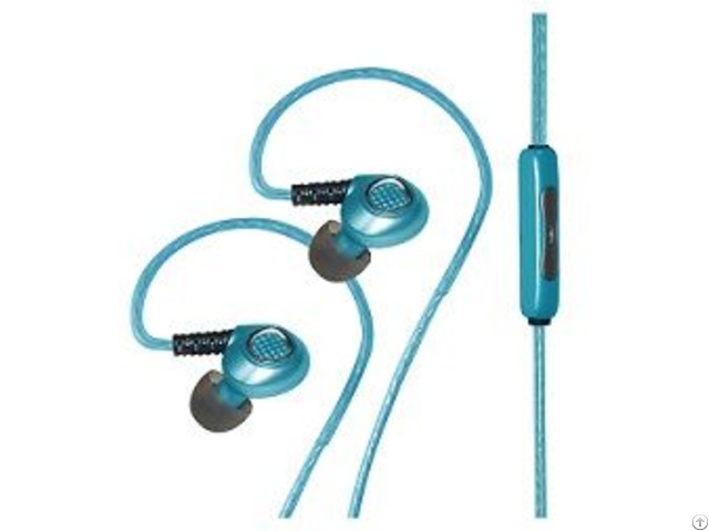 El Glowing Light Sports Earphone With Mic Ep004z