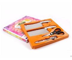 Stainless Steel 4pcs Kitchen Knife Set