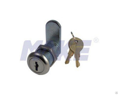 Wafer Key Cam Lock Zinc Alloy Shiny Chrome Nickel Plated