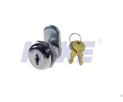Zinc Alloy Small Wafer Key Cam Lock Shiny Chrome Nickel Plated
