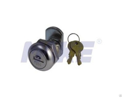 Flat Key Cam Lock Zinc Alloy Shiny Chrome Nickel Plated