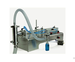 Semi Automatic Piston Filling Machine For Free Flowing Liquids