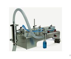 Semi Automatic Piston Filling Machine For Free Flowing Liquids