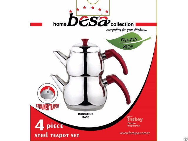 Besa Home Collection Tea Pot Set