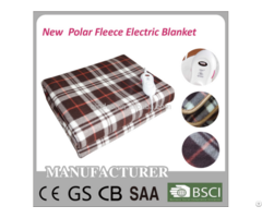 Polar Fleece Electric Blanket