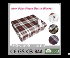 Polar Fleece Electric Blanket