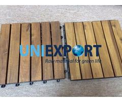 Natural Wood Decking Tile
