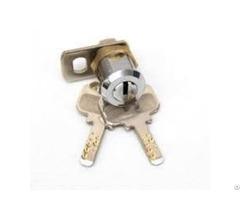 Mini Size Brass Dimple Key Cam Lock Shiny Chrome