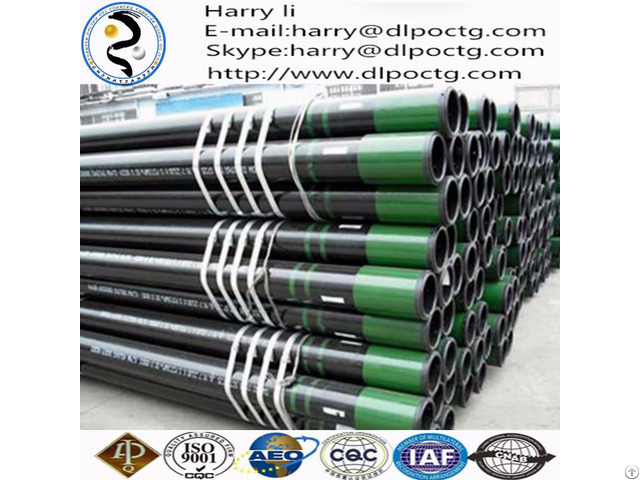 Api 5ct Seamless Steel Casing Pipe 2 7 8 Oilfield Tubing