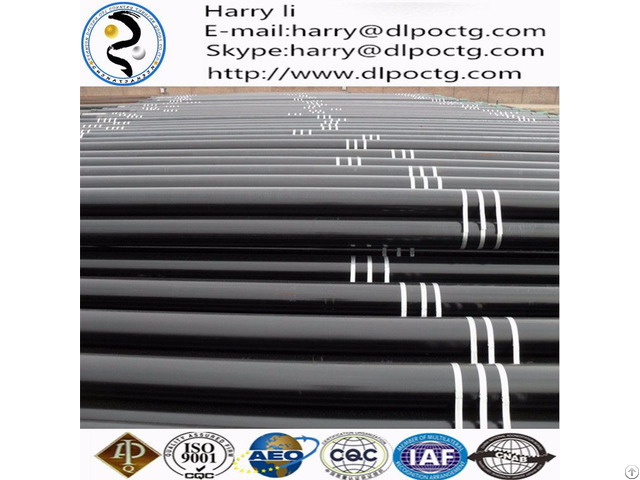 Api 5ct Premium Connection L80 9cr Vam Top Casing Pipe