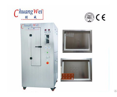 Pneumatic Stencil Cleaner Steel Mesh Washing Machine