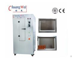 Pneumatic Stencil Cleaner Steel Mesh Washing Machine