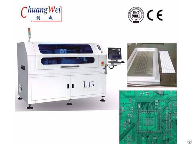 Smt Solder Paste Printer Precise Printing Machine