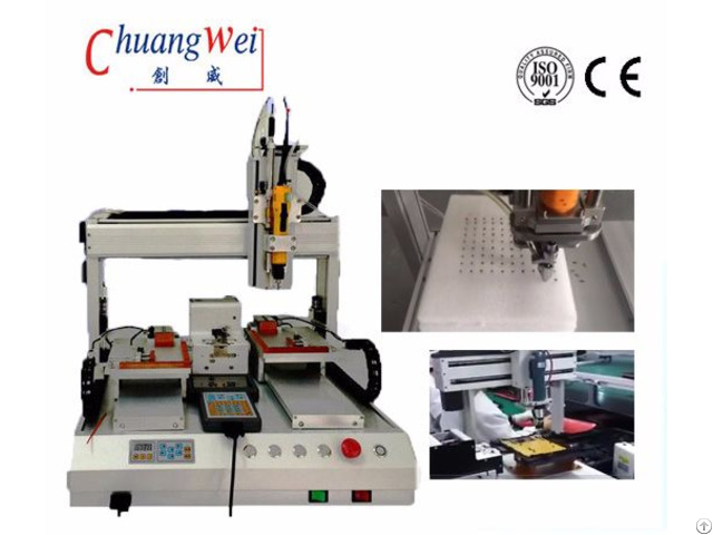 Single Spindle Screw Assembly Machine For Smt Line