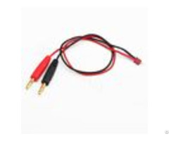 High Current Female Connector Charger Cable Micro Deans To Banana Plug