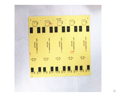Double Sides Printed Circuit Board With Lead Free Hal Finishing