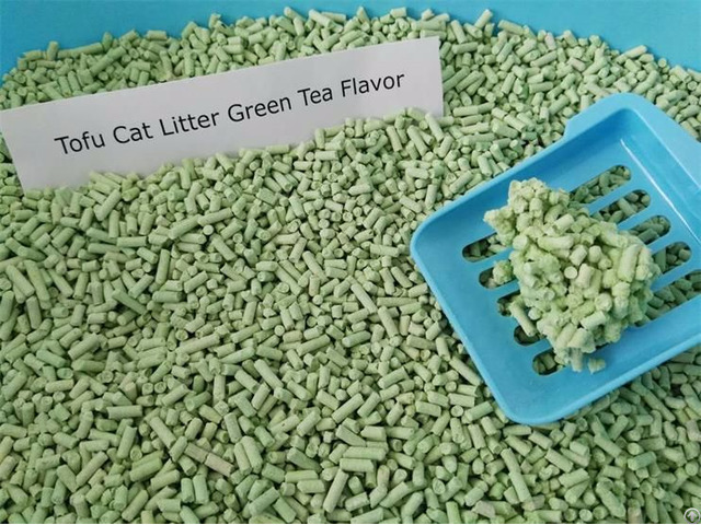 Biodegradable Tofu Cat Sand Green Tea Flavor