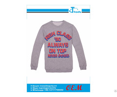Customized Printed Cotton Sweatshirts