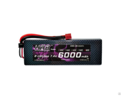 Hrb Lipo Battery 2s 7 4v 6000mah 120c Hard Case Akku Bateria For Rc Car Drone Helicopter