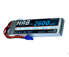 Hrb 7 4v 2600mah 30c Max 60c Lipo Battery For Rc Hubsan 4 Xis Quadcopter Helicopter