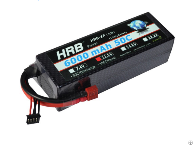 Hrb Lipo Battery 3s 11 1v 6000mah 50c Hard Case For Rc Car Truck Boat Helicopter
