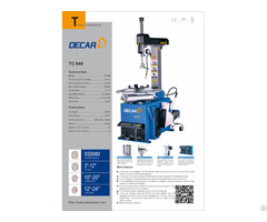 Tc940 Automatic Tilting Post Vehicle Used Tire Changer Machine