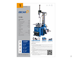 Tc960 China Fully Automatic Tyre Changer Wholesale Price