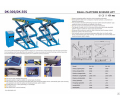 Inground Electric Scissor Car Lift With Ce Approval