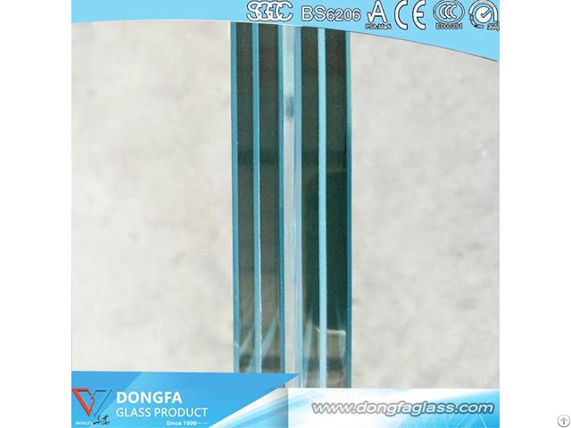 Sgp Laminated Glass Curtain Wall