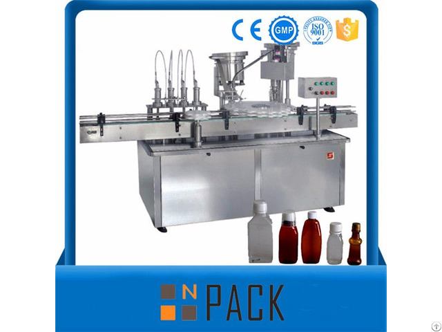 Automatic Rotary Filling And Capping Machine