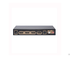 Three Ports Switch Arc Edid Setting Hdmi Audio Extractor