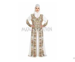 Stylist Royal Wedding Caftan Party Wear Dress For Women By Maxim Creation