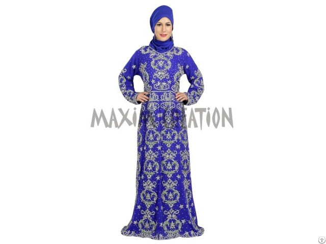 Most Admirable Luxury Wedding Kaftan For Women
