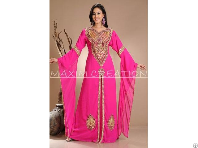 Beautiful Dubai Ladies Islamic Arabian Caftan