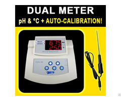 Bench Ph Temperature Meter