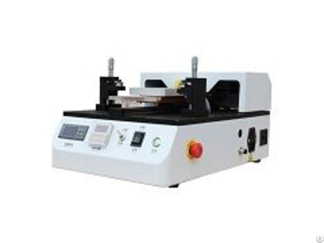White Semi Automatic Lcd Separator Built In Air Vacuum Pump