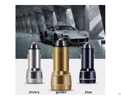 Car Phone Holdercar Charger With Safety Hammer